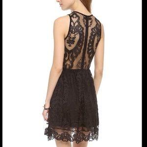 For love & lemons lulu lace mini dress